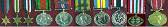 Col Ritchie's medals.