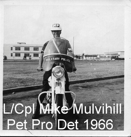 Photo of LCpl Mike Mulvihill, Petawawa Det - 1966.