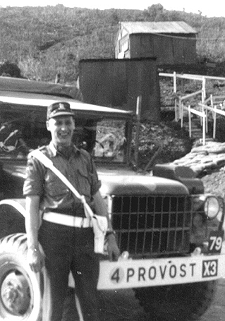 Photo of member of C Pro C, Axel Nickolson in Korea-1953/54.