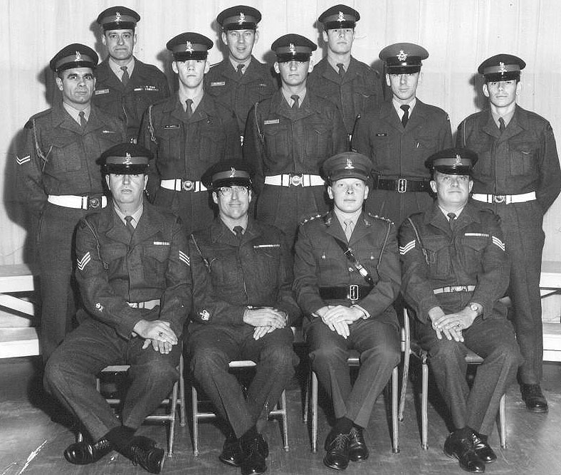 Members of Shilo Provost Det - 1969.